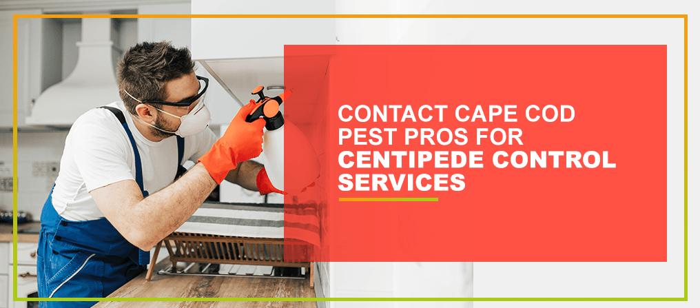 Contact Cape Cod Pest Pros for Centipede Control Services
